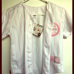 Tops - Chicago Cubs Pink Jersey